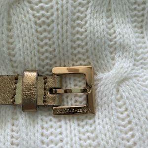 Dolce and Gabbana belt